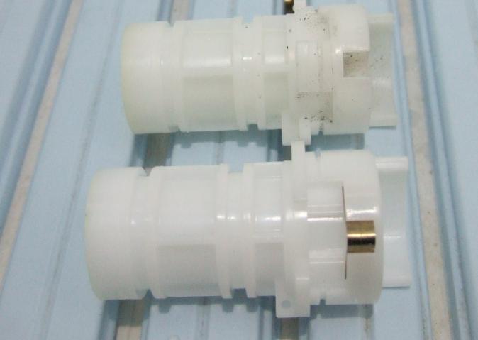TOTOサーモスタット混合栓 スペーサーの交換 板ばね
